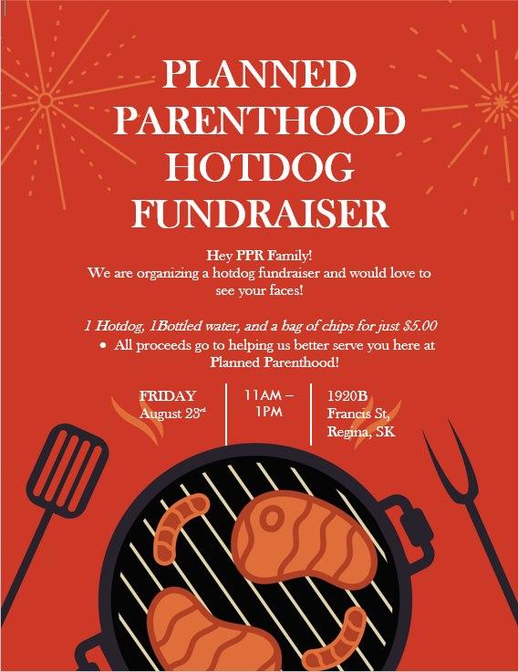 pp hotdog fundraiser